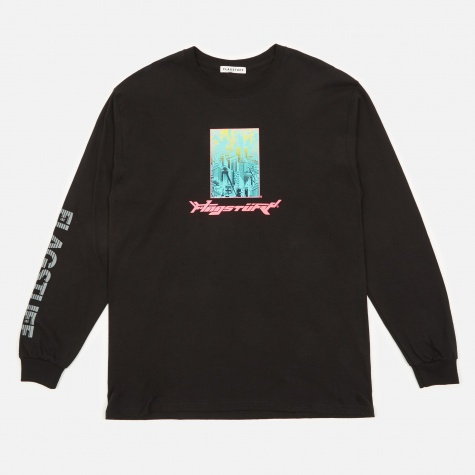 Bottled City L/S T-Shirt - Black