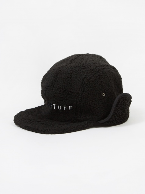 Flagstuff-F Fleece Camp Cap - Black