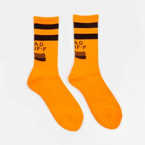 PS Logo Socks - Orange