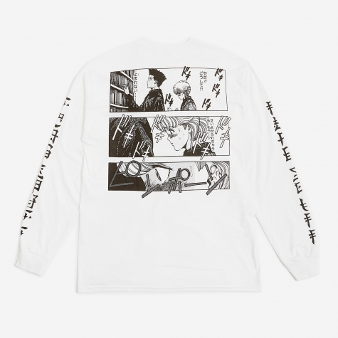 x Video Girl L/S T-Shirt - White