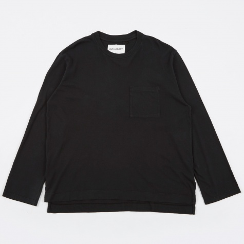 Box Longsleeve - Black Army Jersey