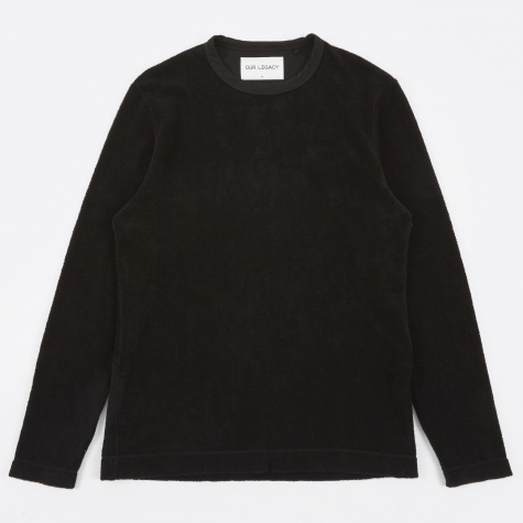 Longsleeve T-Shirt - Black Terry