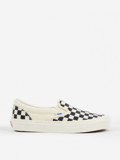 Vault OG Slip-On LX - Checkerboard White/Navy
