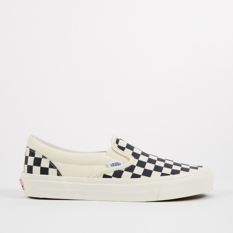 OG Slip-On LX - Checkerboard White/Navy