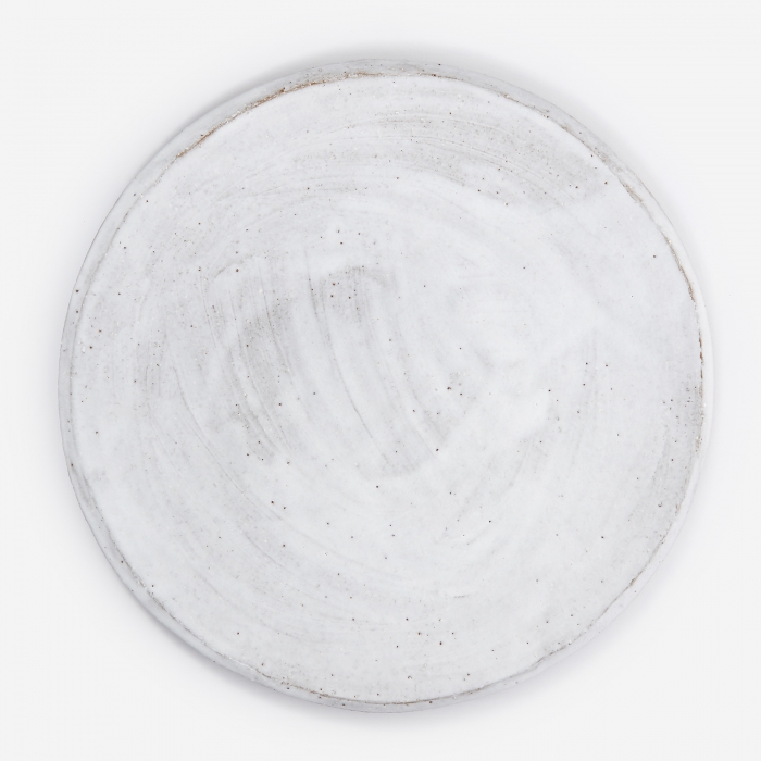 Kana Flat Dinner Plate - Basic White (Image 1)