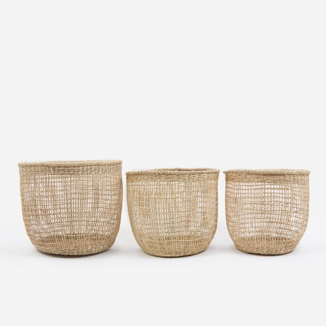 Shape Baskets Set Of Three - Large