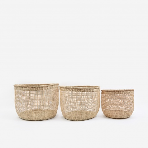 Shape Baskets Set Of Three - Small