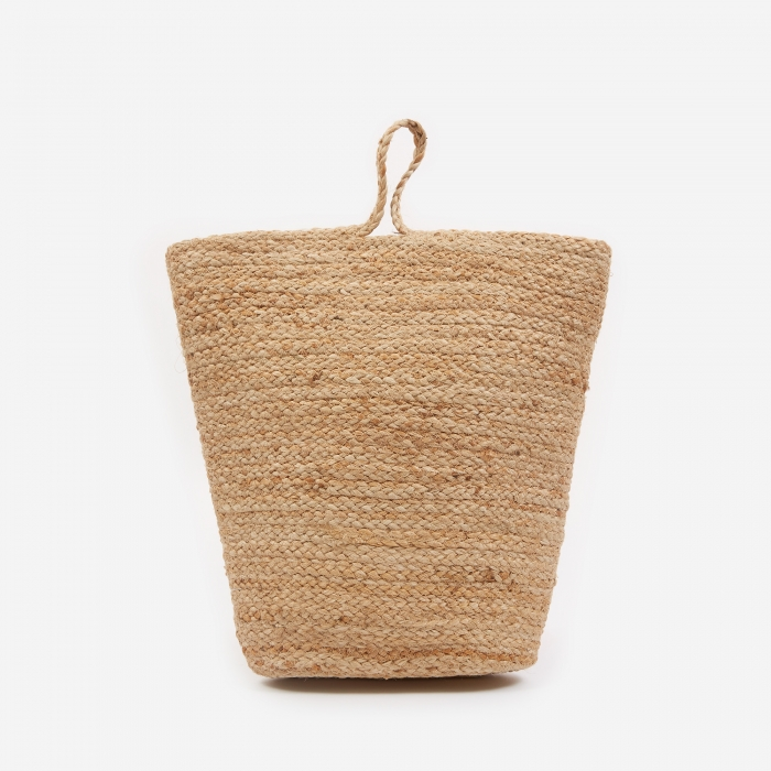 House Doctor Mira Hemp Storage Basket - Small (Image 1)