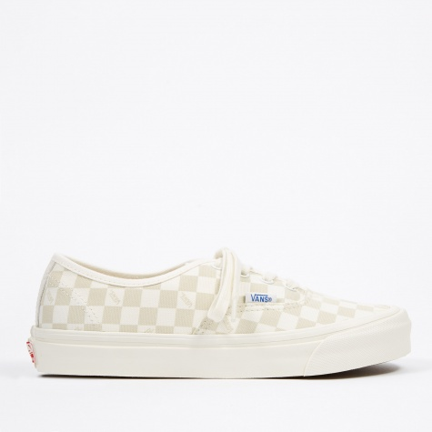 Vault UA OG Authentic LX - (Canvas/Suede) Checkerboard/Mars