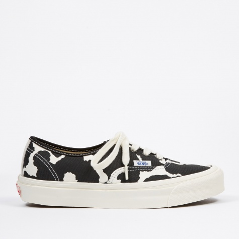 Vault UA OG Authentic LX - (Canvas/Suede) Cow/Black