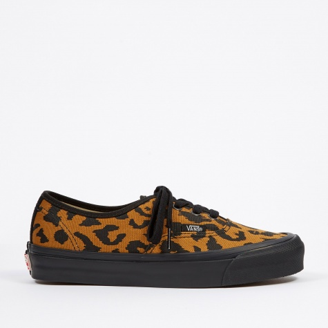 Vault UA OG Authentic LX - (Canvas/Suede) Leopard/Black