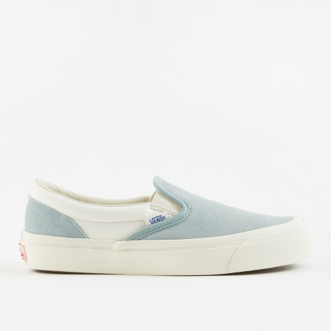 Vault UA OG Classic Slip-On LX - (Suede/Canvas) Slate/Marsh