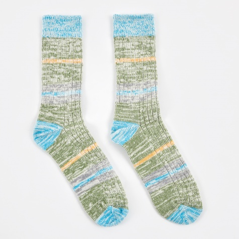 Mingle Sock - Ocean Blue