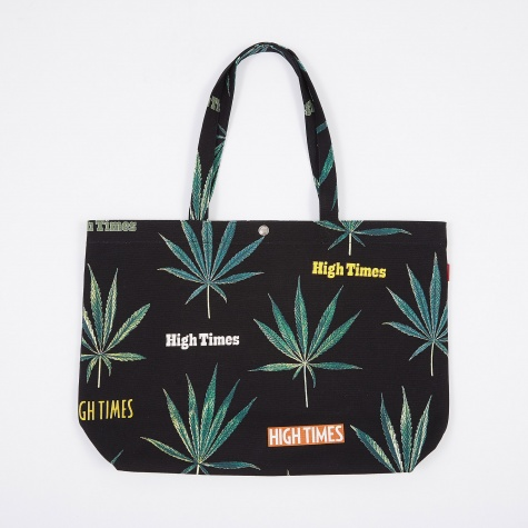 High Times x Wacko Maria Marijuana Tote Bag - Black