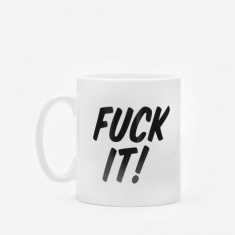 Goods By Goodhood Fuck It Mug - White