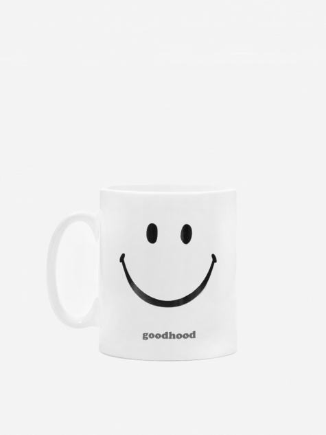 Good Bad Mood Hood Mug - White