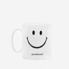 Goods by Goodhood Good Bad Mood Hood Mug - White