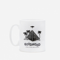 Goods by Goodhood Pyramid Mug - White