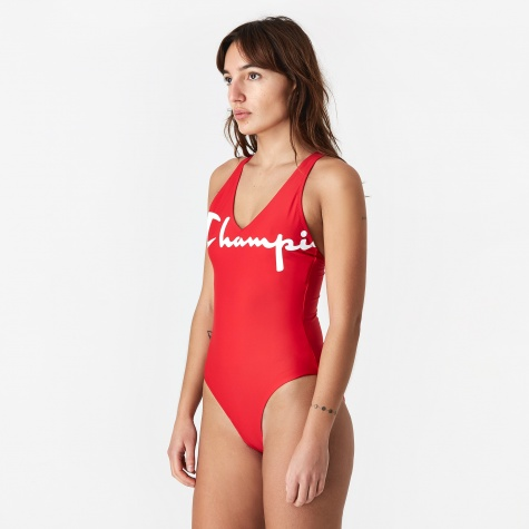 Champion Swim Suit - Red