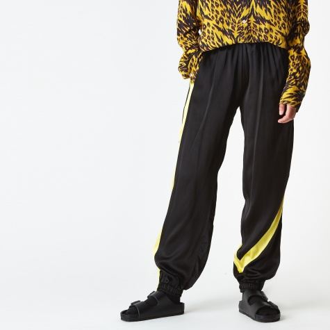 Silk Arise Arise Track Pant - Black/Yellow/Logo