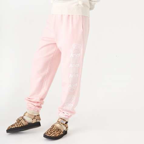 Column Sweatpant - Pink