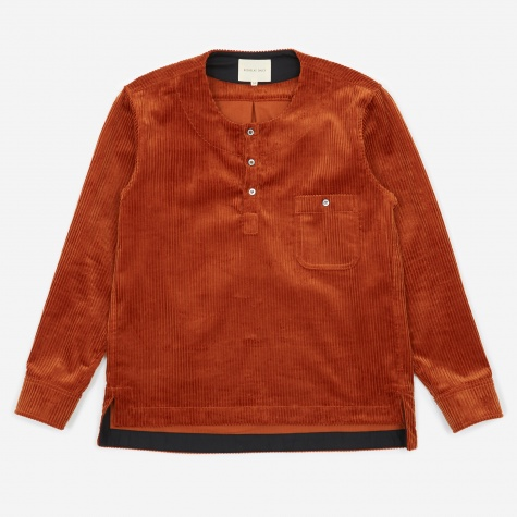 Classic Shirt - Dark Orange