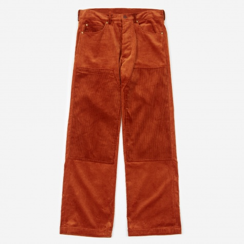 5 Pocket Jean - Dark Orange