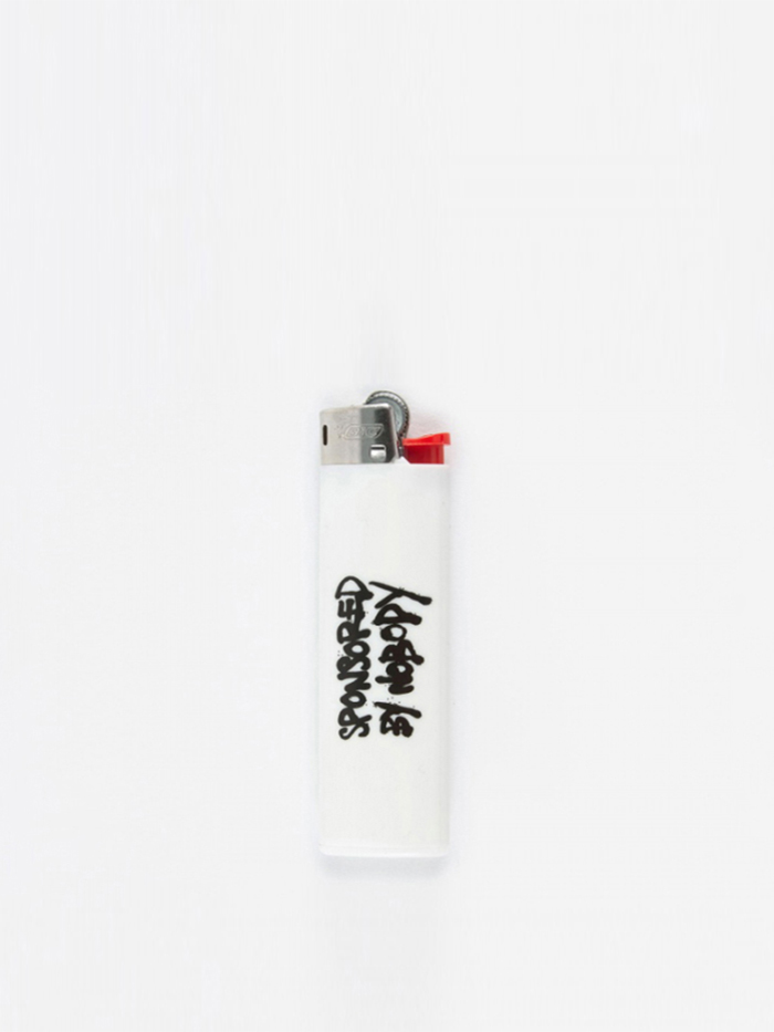 Goods By Goodhood Sponsored Lighter - White (Image 1)