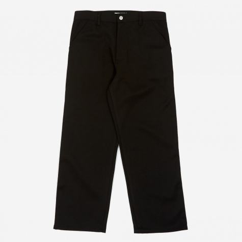 Tres Bien Wool Carpenter Pant - Black