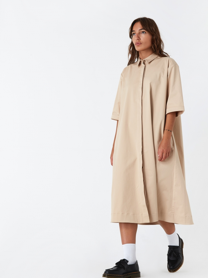 YMC Joan Dress - Sand (Image 1)