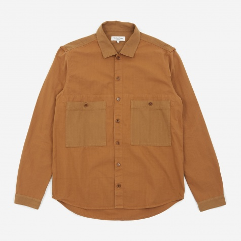 Doc Savage Shirt - Brown