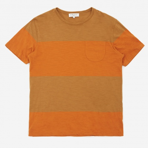 Baja T-Shirt - Brown/Rust