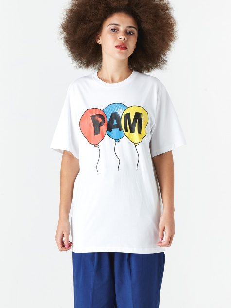 PAM Perks And Mini Helium T-Shirt - White
