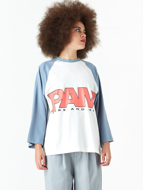 PAM Perks And Mini Qebui Raglan Top - White