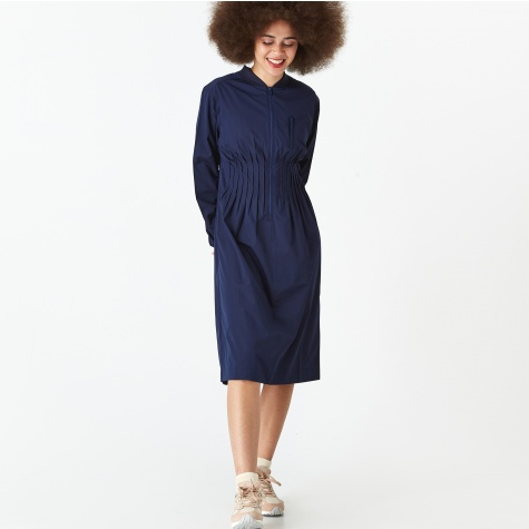 PAM Perks And Mini Eurus Bomber Dress - Navy