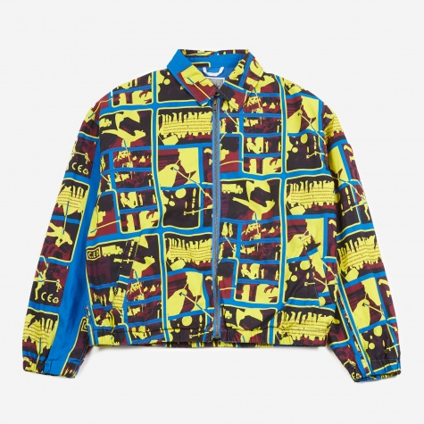 C.E Cav Empt Card 2 Zip Jacket - Blue