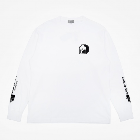 C.E Cav Empt Pack Long Sleeve T-Shirt - White