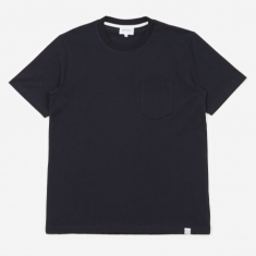 Norse Projects Johannes Pocket T-Shirt - Dark Navy