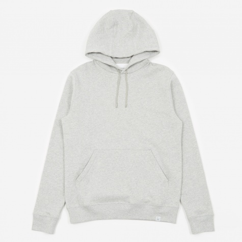 Vagn Classic Hooded Sweatshirt - Light Grey