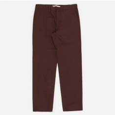Norse Projects Aros Heavy Trouser - Egglant Brown