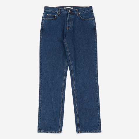 Norse Regular Denim Jeans - Stone Washed