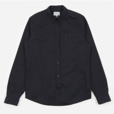 Norse Projects Anton Twill Shirt - Dark Navy