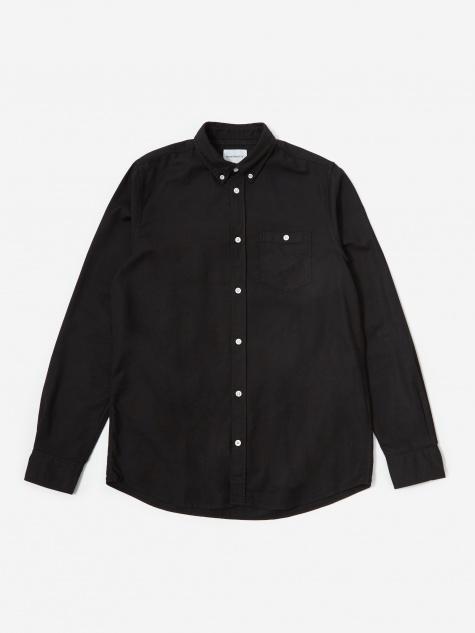 Anton Oxford Shirt - Black Overdye
