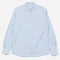 Norse Projects Anton Oxford Shirt - Pale Blue