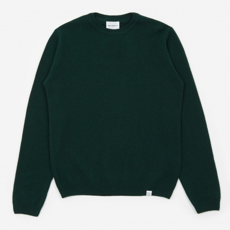 Sigfred Lambswool Jumper - Quartz Green