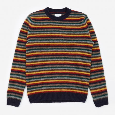Sigfried Brushed Stripe Jumper - Multicolour