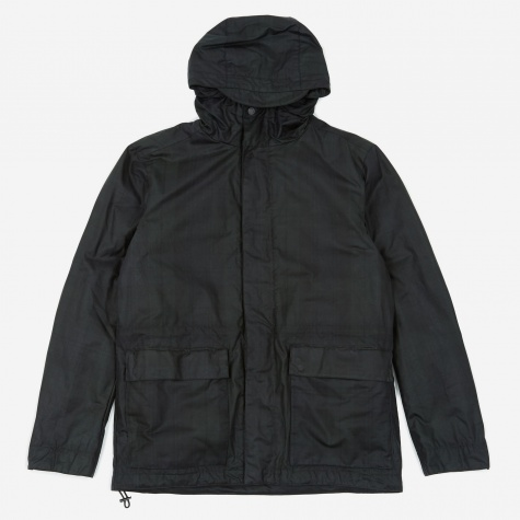 Nunk Waxed Cotton Jacket - Black Watch Check