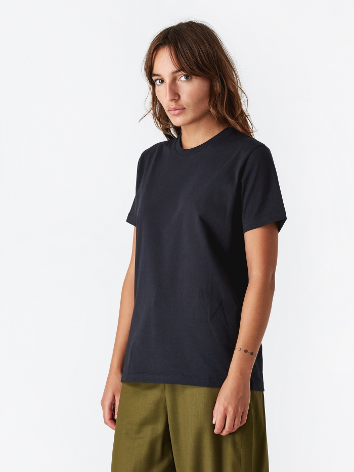 Norse Projects Gro Standard Cotton T-Shirt - Black (Image 1)