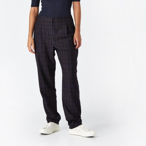 Disana Checked Wool Trouser - Ombre