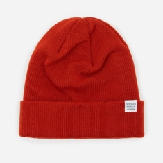Norse Projects Top Beanie - Oxide Orange